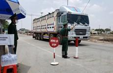 COVID-19: Giao thương biên giới Campuchia-Việt Nam duy trì ổn định