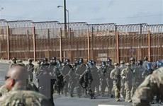 Mỹ triển khai 500 binh sỹ tới biên giới chung với Mexico