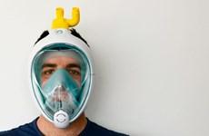 Biến mặt nạ lặn thành thiết bị trợ thở cho bệnh nhân COVID-19