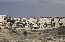 Palestine phản đối kế hoạch của Israel sáp nhập các khu vực ở Bờ Tây