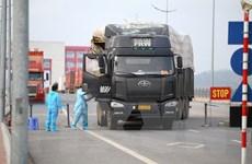 Quảng Ninh: Hàng hóa thông quan thuận lợi qua cửa khẩu Móng Cái