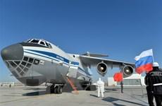 Ông Lavrov: Mỹ tuyên bố sẵn sàng gửi thiết bị chống COVID-19 cho Nga