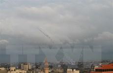 Israel tấn công các vị trí Hamas đáp trả vụ phóng rocket từ Gaza