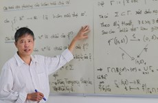 PGS Phạm Tiến Sơn và công trình được đề cử Giải thưởng Tạ Quang Bửu
