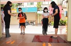 Hà Nội: Tỷ lệ học sinh đến trường cao sau 3 tháng nghỉ phòng dịch