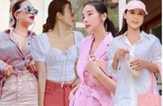 """""""Tan chảy"""" trước street style nữ tính, ngọt ngào của dàn sao Việt"""