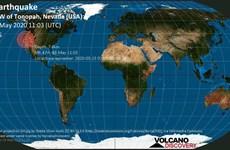 Mỹ: Động đất 6,4 độ làm rung chuyển khu vực gần bang Nevada