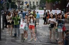 Số du khách nước ngoài đến Hàn Quốc giảm tới hơn 98% trong tháng Tư