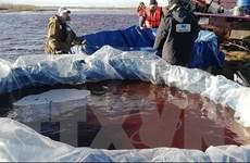 Nga: Nền đất và móng bêtông lún gây ra sự cố tràn dầu nghiêm trọng