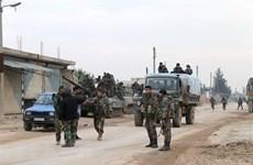 Nhóm tay súng cực đoan tấn công khiến 19 binh sỹ Syria thiệt mạng