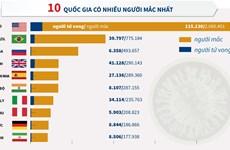 [Infographics] Thế giới có hơn 7,4 triệu người mắc COVID-19
