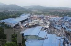 Hiện trường tan hoang sau trận lốc khiến 21 người thương vong