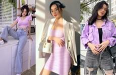 Học cách phối tím lilac cho trang phục ngày Hè từ mỹ nhân Việt