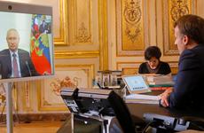 Lãnh đạo Nga-Pháp hội đàm trực tuyến trao đổi về hợp tác song phương