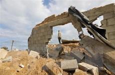 Israel tấn công vị trí của Hamas nhằm đáp trả vụ phóng rocket từ Gaza