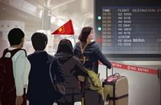 Du khách Trung Quốc tới Hàn Quốc giảm hơn 30% do căng thẳng ngoại giao