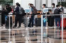 Singapore áp dụng biện pháp bảo đảm hạn chế tiếp xúc tại sân bay