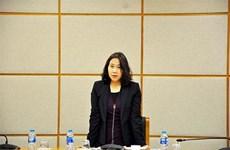 Bà Nguyễn Thị Hương là nữ Tổng cục trưởng Tổng cục Thống kê đầu tiên
