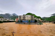 Miền Nam Trung Quốc tiếp tục đối mặt nguy cơ lũ lụt nghiêm trọng