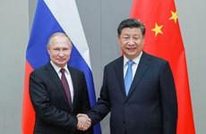 Lãnh đạo Nga và Trung Quốc điện đàm, khẳng định tiếp tục hợp tác