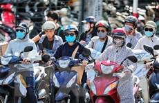 [Photo] Thủ đô Hà Nội tiếp tục trải qua đợt nắng nóng kéo dài
