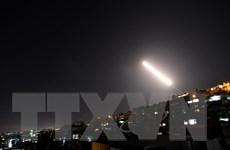 Lực lượng phòng không Syria đánh chặn nhiều tên lửa nhằm vào Damascus