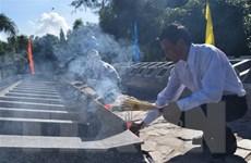 Kiên Giang truy điệu, an táng 72 hài cốt liệt sỹ hy sinh tại Campuchia
