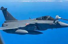 Ấn Độ tiếp nhận 5 máy bay tiêm kích Rafale mua từ Pháp