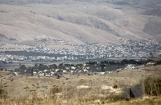 Quan chức Palestine: Israel đang thúc đẩy kế hoạch sáp nhập Bờ Tây