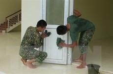 Những người lính nơi tuyến đầu phòng, chống dịch COVID-19