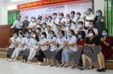 Đoàn nhân viên y tế Bình Định tình nguyện lên đường hỗ trợ Đà Nẵng