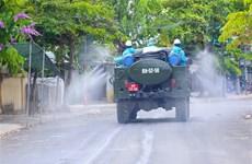 Thành phố Đà Nẵng khử khuẩn, xử lý môi trường tại 26 khu vực