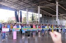 250 vận động viên tham gia giao lưu thể thao đoàn kết Việt Nam-Lào