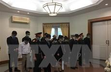Lễ viếng nguyên Tổng Bí thư Lê Khả Phiêu tại Lào, Indonesia, Singapore
