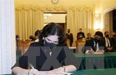 Tổ chức lễ viếng nguyên Tổng Bí thư Lê Khả Phiêu tại Cuba