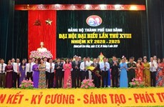 Tỉnh Cao Bằng hoàn thành đại hội đại biểu cấp trên cơ sở