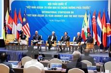 Việt Nam-ASEAN: 25 năm qua và chặng đường phía trước
