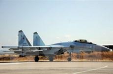 Không quân Nga tấn công các vị trí của IS tại sa mạc Syria