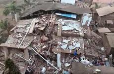 Sập nhà 5 tầng tại Ấn Độ khiến ít nhất 70 người bị mắc kẹt