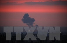 Máy bay chiến đấu Israel tấn công trả đũa các mục tiêu của Hamas