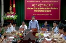 Quảng Bình hủy mua cặp đựng tài liệu cho đại biểu dự Đại hội Đảng bộ