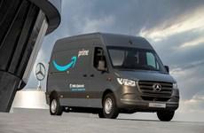 Amazon đặt mua 1.800 xe tải chạy bằng điện của Mercedes-Benz