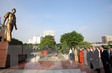 TP. HCM: Dâng hương Chủ tịch Hồ Chí Minh, Chủ tịch Tôn Đức Thắng