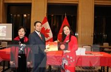Giới thiệu pho sử vàng của Việt Nam đến bạn bè Canada