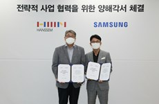 """Samsung """"bắt tay"""" hãng nội thất Hanssem mở rộng cơ hội kinh doanh"""