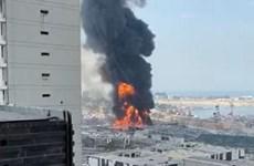 Liban: Lại xảy ra một vụ hỏa hoạn tại khu vực cảng Beirut