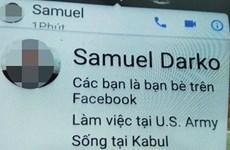 TP HCM: Giả mạo tướng quân đội Mỹ qua Facebook để lừa chiếm tài sản