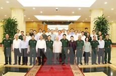 Tổng Bí thư chủ trì buổi làm việc với Ban Thường vụ Quân ủy Trung ương