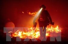 Mỹ: Thời tiết khô nóng khiến cháy rừng dữ dội hơn ở bang California