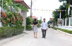 Khu dân cư nông thôn mới kiểu mẫu ở địa bàn vùng giáo tỉnh Hà Tĩnh